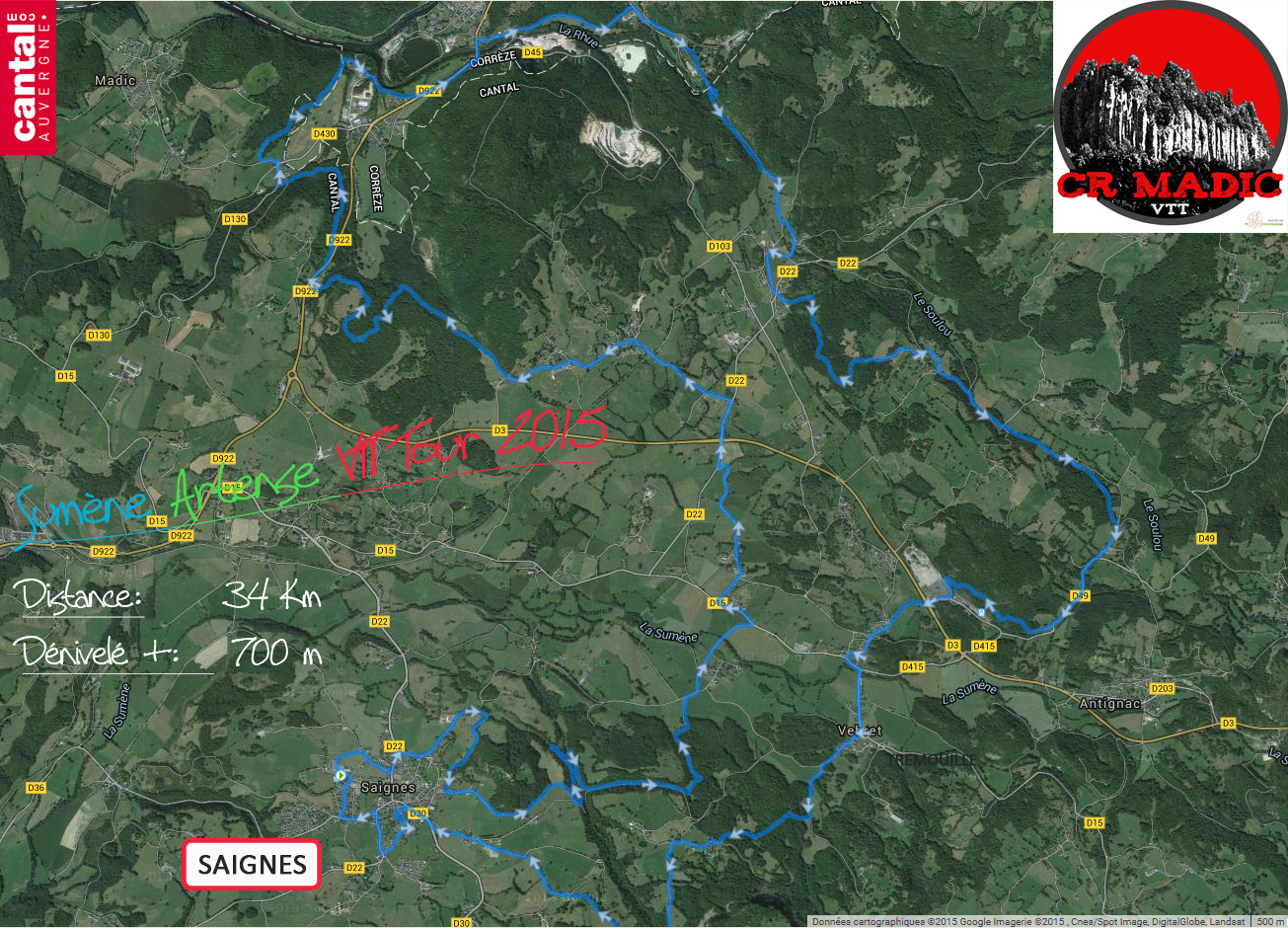 2015 savtt tour 34 km distance