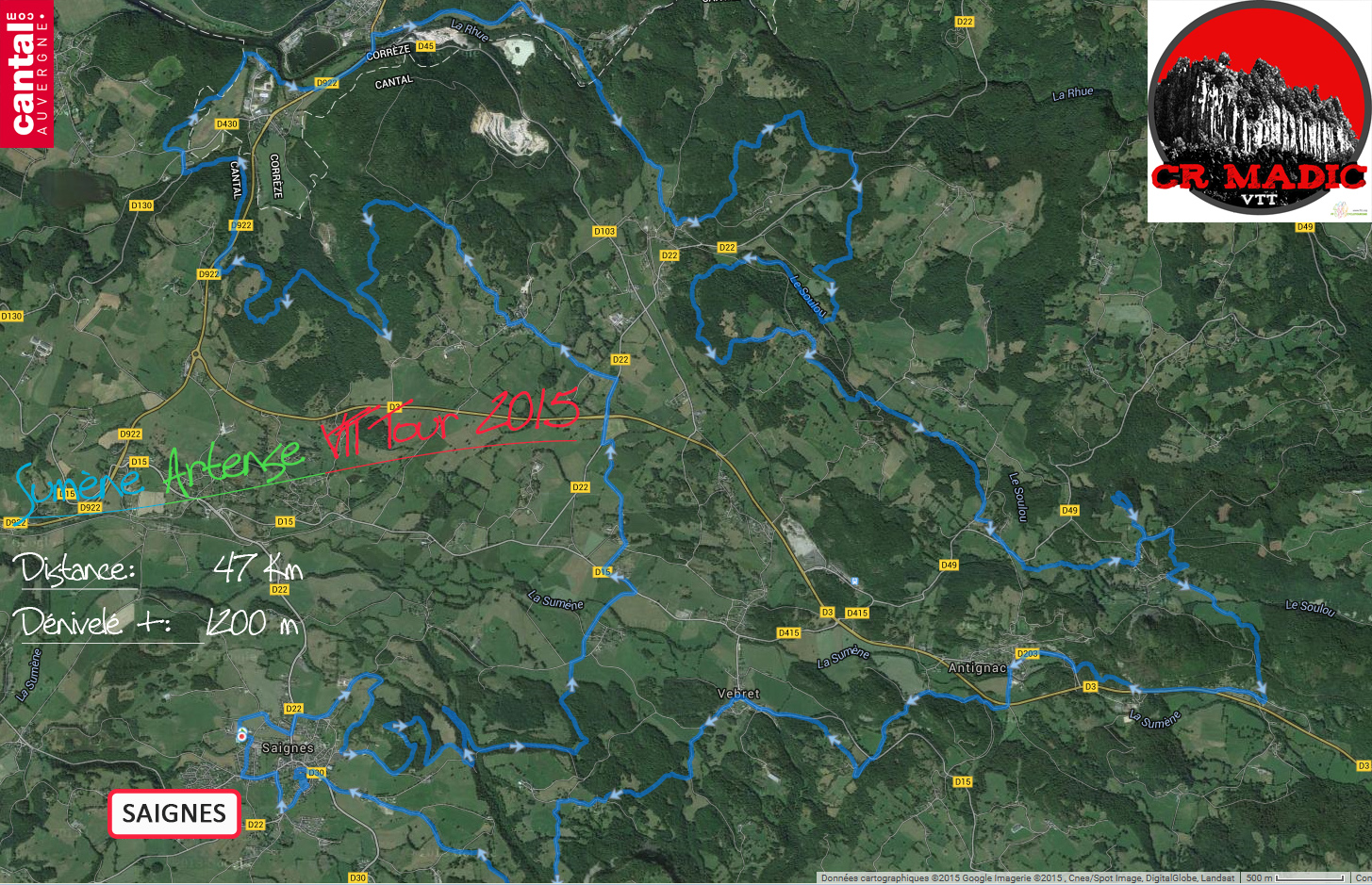 2015 savtt tour 47 km distance