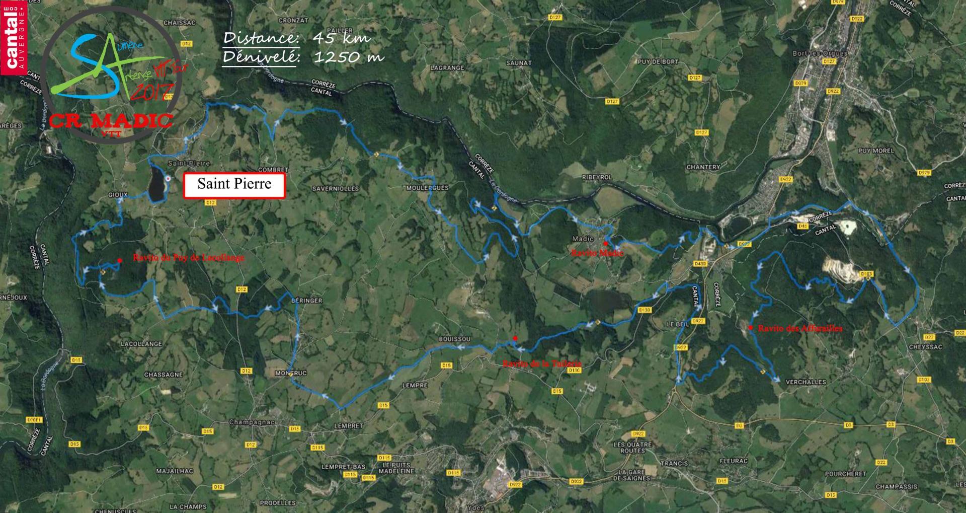2017 savtt tour 45 km parcours