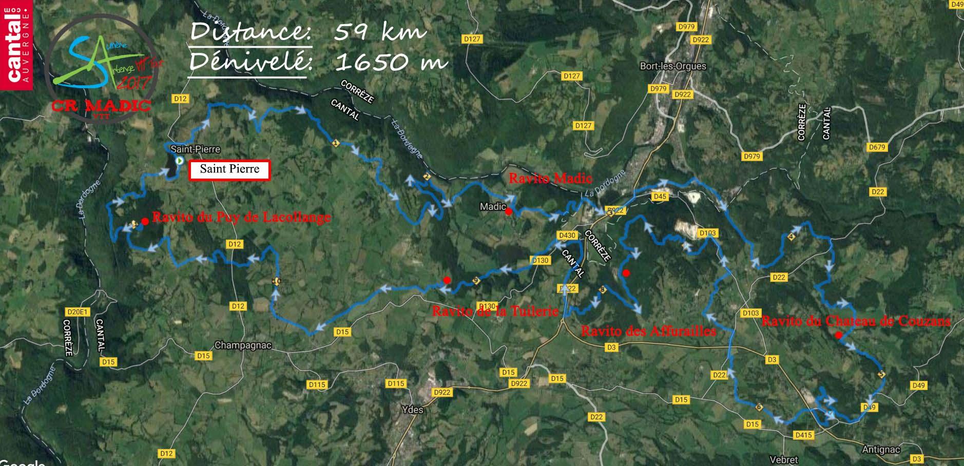 2017 savtt tour 60 km parcours