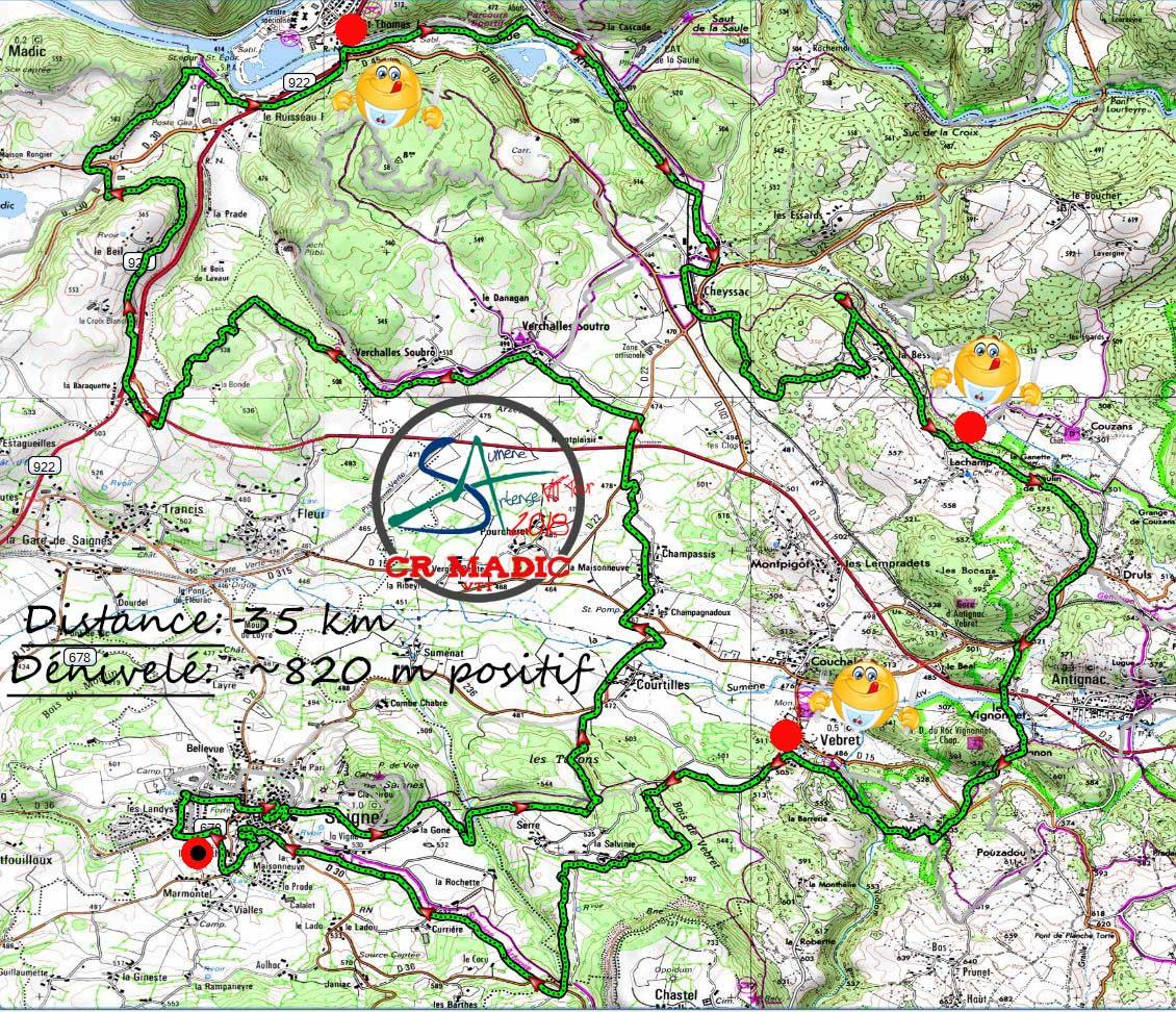 2018 savtt tour 35 km parcours