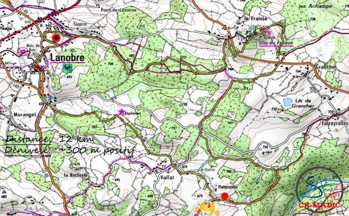 2019 savtt tour 12 km parcours