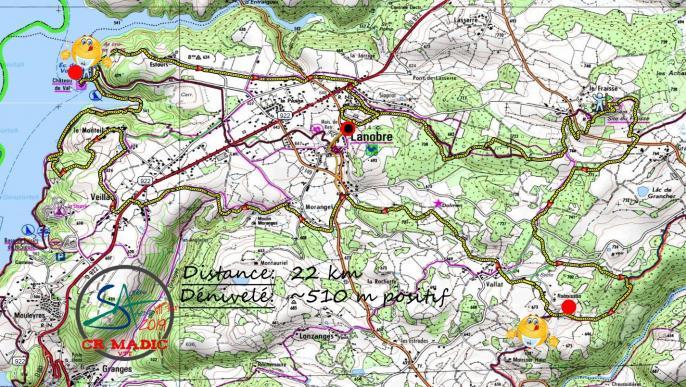 2019 savtt tour 22 km parcours