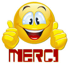 Emoticone merci