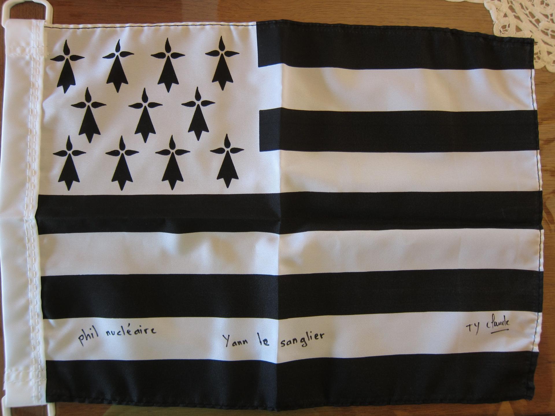 Le drapeau savtt tour 2015
