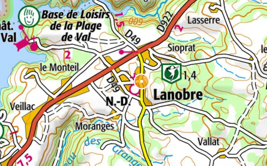 Parcours ign