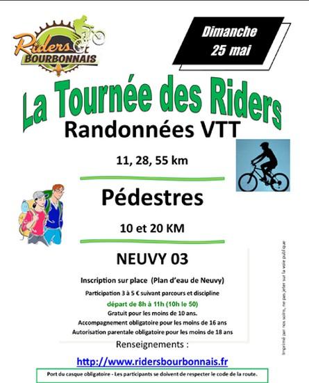 Tournee des riders